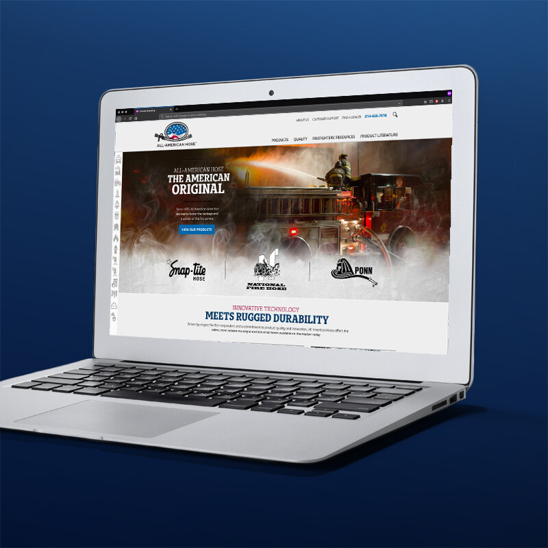 All-American Hose Responsive Website