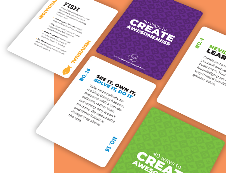 40 Ways to Create Awesomeness Cards
