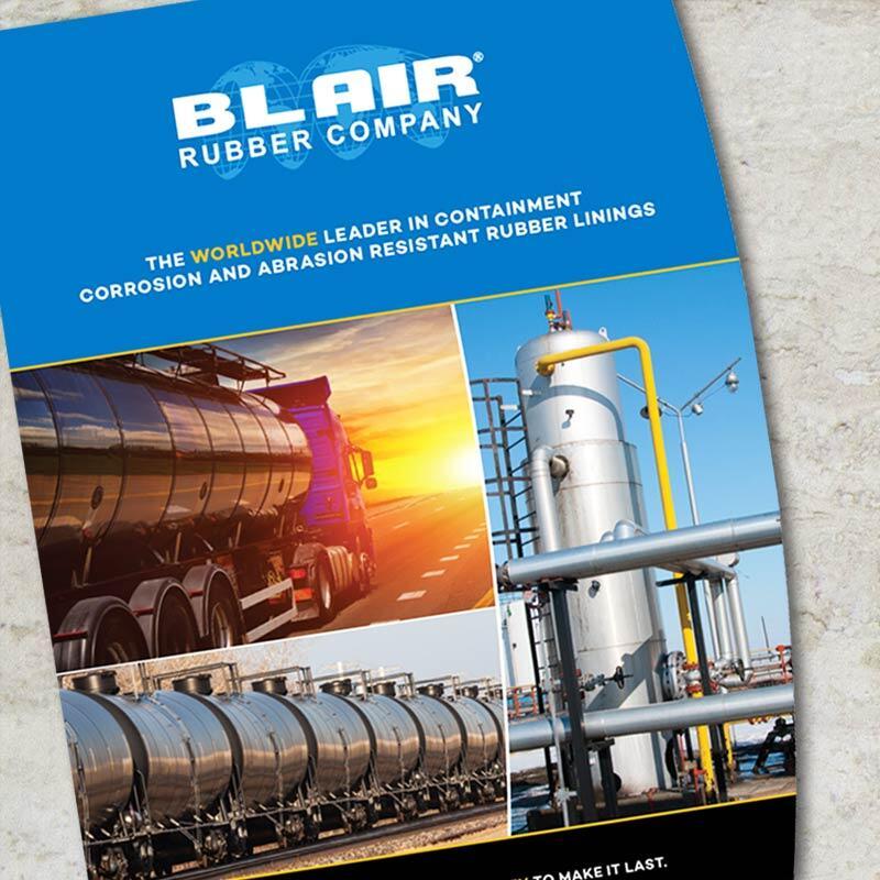 Blair Rubber Brochure Cover