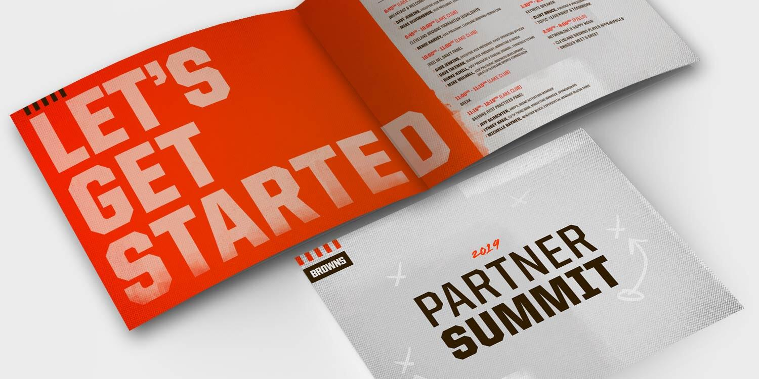 The Cleveland Browns Summit Brochure