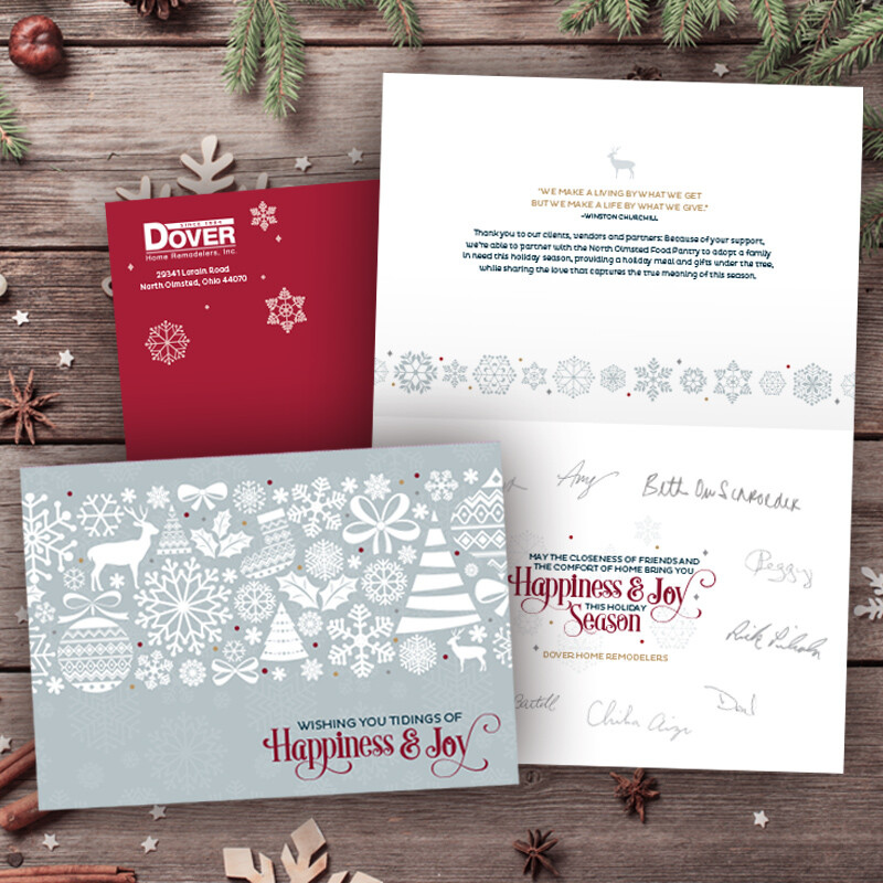 Dover Home Remodelers Christmas Card