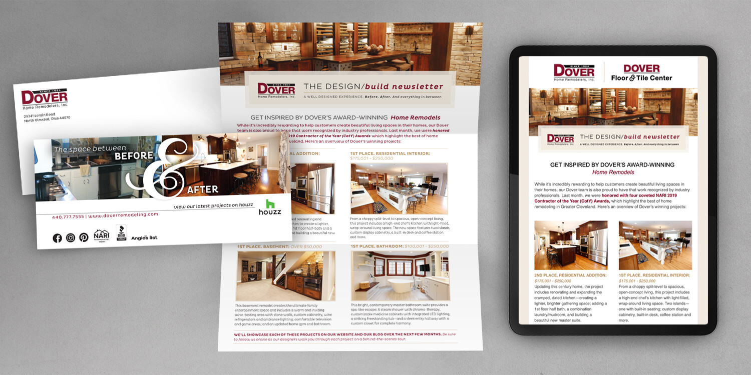 Dover Direct Mail and Email Newsletters