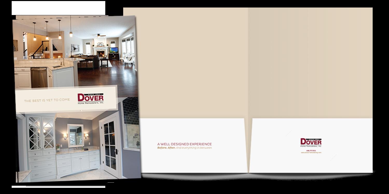 Dover Home Remodelers and Floor & Tile Center Pocket Folder