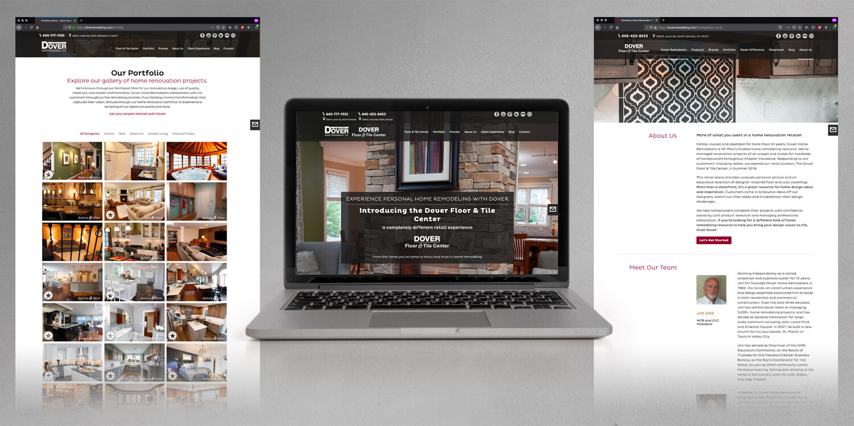 Dover Home Remodelers and Floor & Tile Center Responsive Website