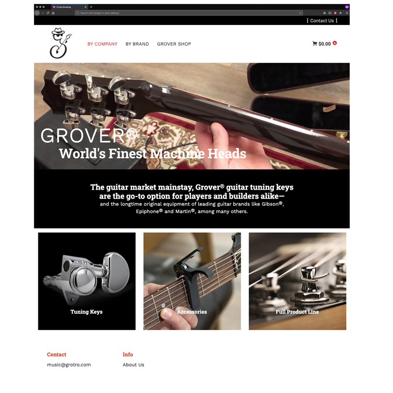 Grover Homepage
