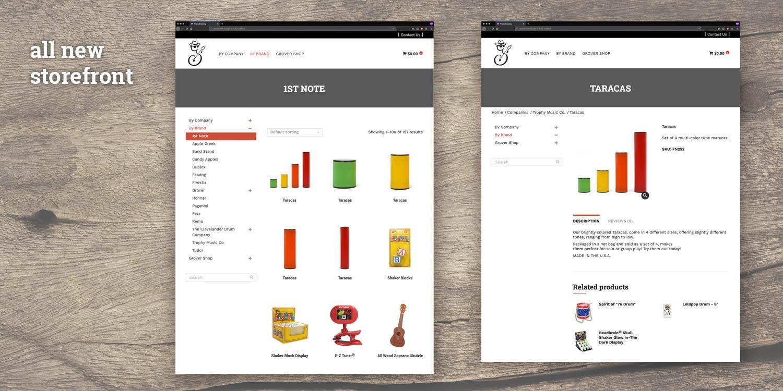 Grover Trophy Website Online Store