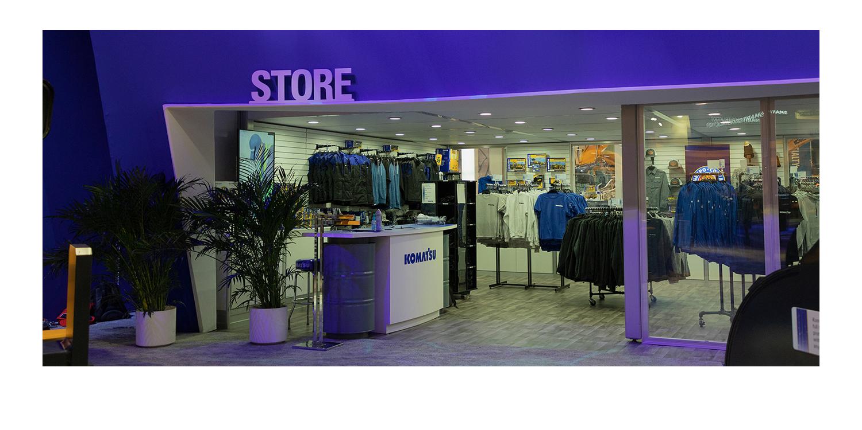 Komatsu Store Front