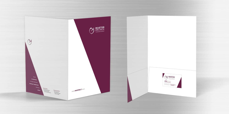 Master Gage & Tool Company Folder