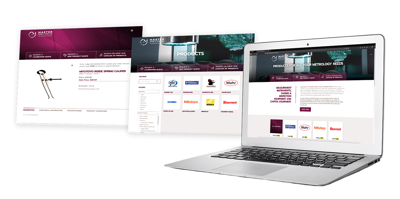 Master Gage & Tool Co Shop Website