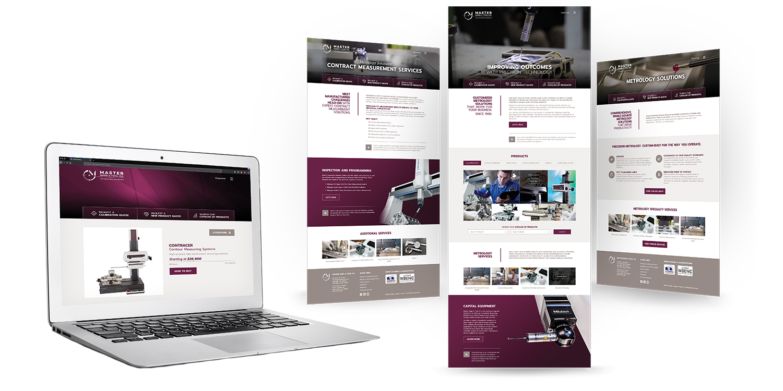 Master Gage & Tool Website Redesign