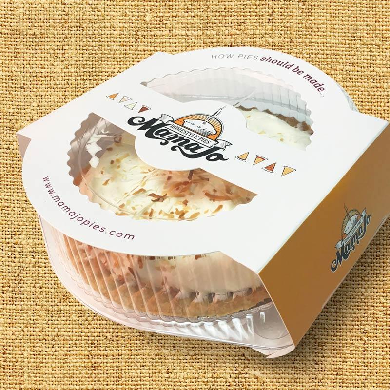 Mama Jo Pies Packaging