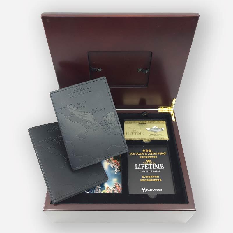 Mannatech Wood Keepsake Box Kit