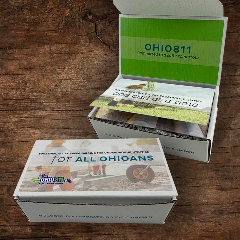 OHIO811 Legislative Reception Box Mailer
