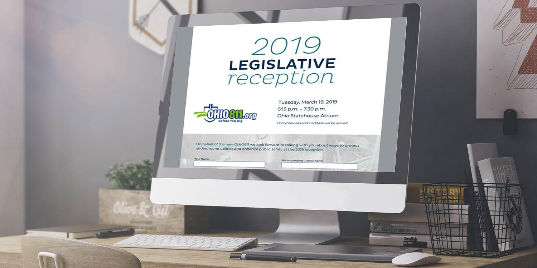 OHIO811 Legislative Reception Landing Page