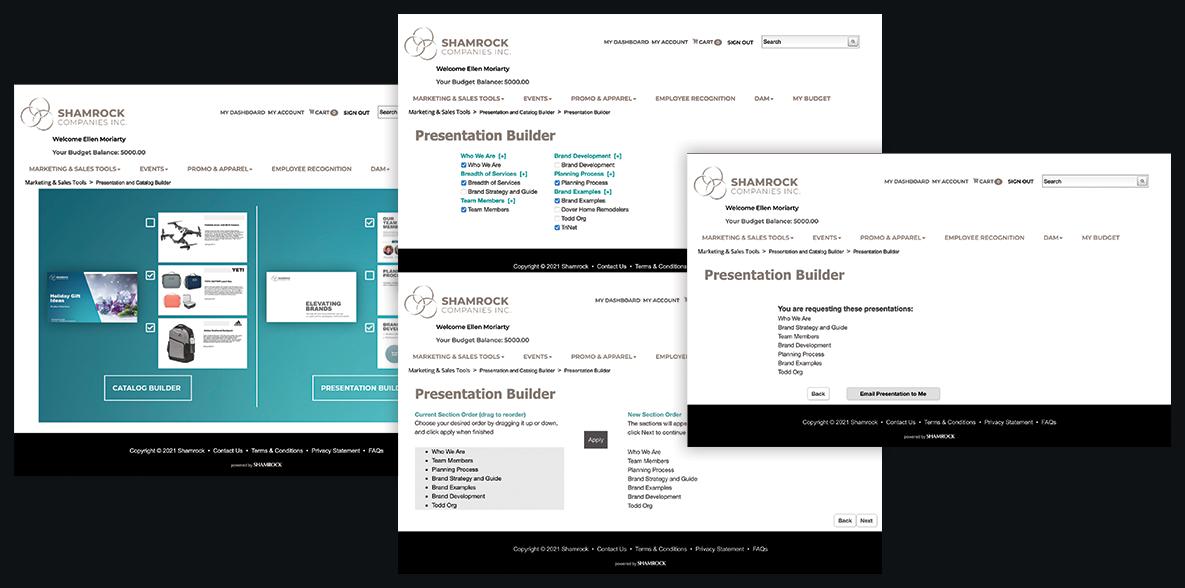 Presentation Builder Process