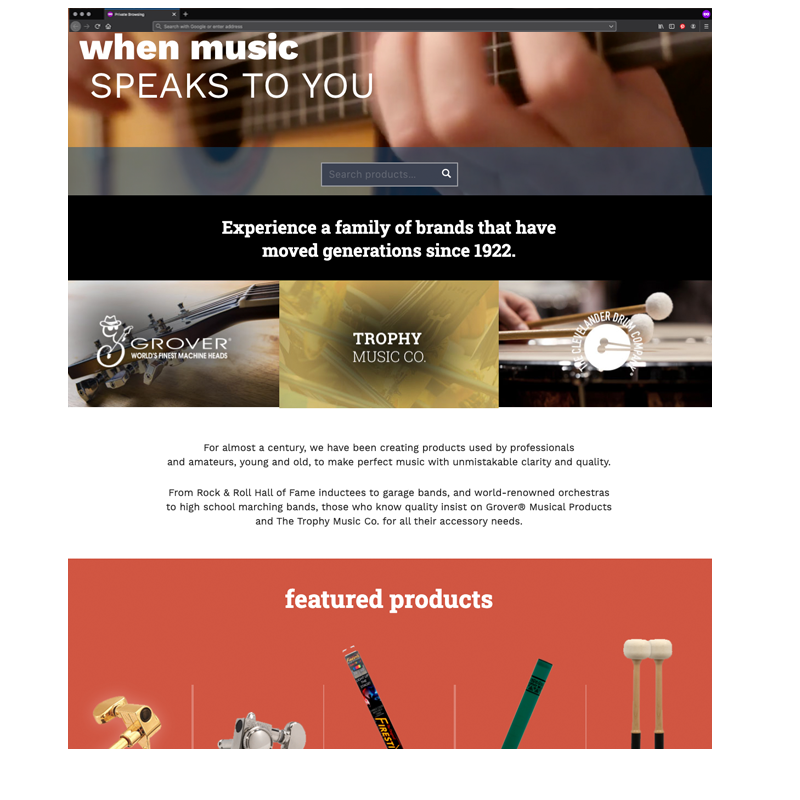 Grover Trophy Website Trophy Music Company Hover