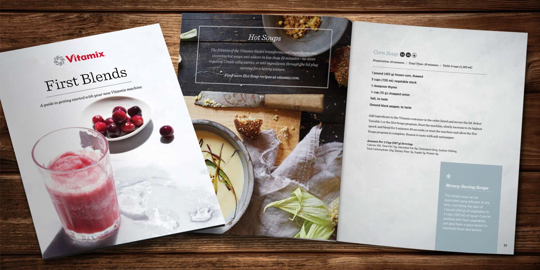 Vitamix First Blends Cookbook