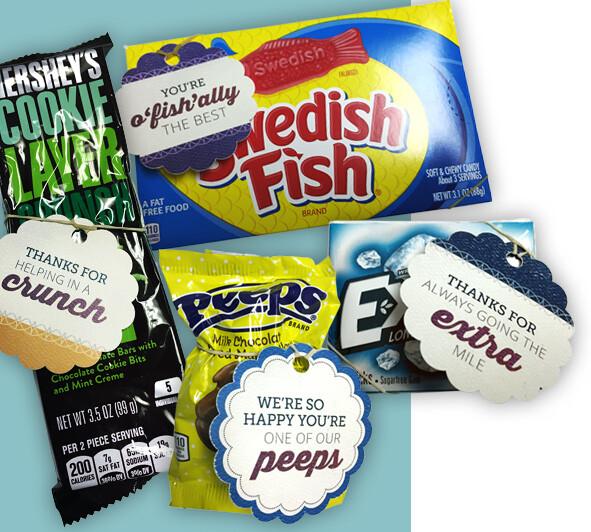Shamrock Employee Kudos Candy Rewards