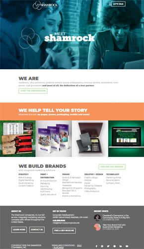 Shamrock Homepage